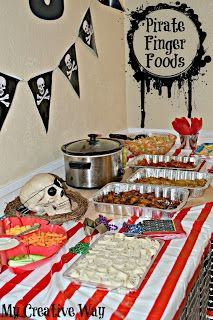 Pirate Birthday Party Ideas.