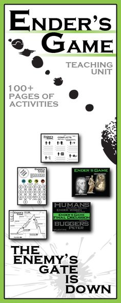 ingl3104 ender s game literary analysis Below is a free excerpt of enders game literary analysis from anti essays, your source for free research papers,  ender's game, written by orson scott card, .