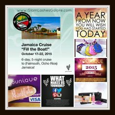 Join my team!!!  Corporate Younique has just announced an incentive trip and incentives start accumulating on January 1, 2015!  Start your own business for just $99... get paid within 3 hours of every sale you make... and play with makeup!  What's not to love?  Message me for more info! Or click the photo for more info, too!