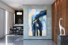 Items similar to Large Abstract Canvas Art,Extra Large Abstract Canvas Art,painting on canvas,modern abstract,extra large wall art on Etsy Large Abstract Wall Art, Large Painting, Textured Painting, Painting Art, Bright Paintings, Unique Paintings, Art Paintings, Abstract Paintings, Extra Large Wall Art