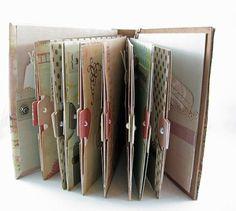 Scrapbook Mini Album, Photo Book, Memory Book, My Minds Eye