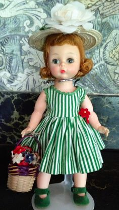 BKW Wendy in tagged dress 1957