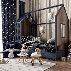 Kids Bedroom Designs, Baby Room Design, Baby Room Decor, Bedroom Ideas, Nursery Design, Bedroom Bed, Nursery Decor, Toddler Rooms, Baby Boy Rooms