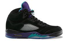 136027-007 Air Jordan 5 Black Grape  / New Emerald – Grape Ice   $113   http://www.sneakerforsale2014.com/136027-007-air-jordan-5-665.html