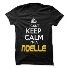 Keep Calm I am ... NOELLE - Awesome Keep Calm Shirt ! - #baby gift #day gift. WANT THIS => https://www.sunfrog.com/Hunting/Keep-Calm-I-am-NOELLE--Awesome-Keep-Calm-Shirt-.html?68278