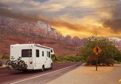 winter RVing in the desert - Stellalevi for Getty Images