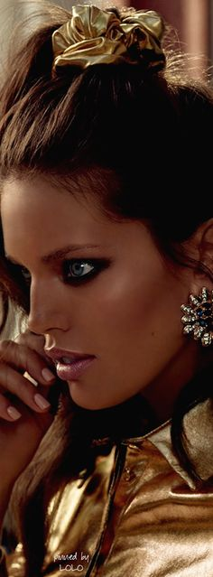 Emily Didonato by Miguel Reveriego for Vogue Spain October 2014   The House of Beccaria~