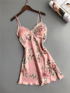 Sexy Lingerie, Jolie Lingerie, Lingerie Outfits, Lingerie Dress, Satin Sleepwear, Sleepwear Women, Babydoll Nightwear, Lace Babydoll, Babydoll Lingerie