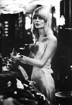 Biba shopgirls from the 60s/70s are so glam and edgy at the same time—the look as a whole is so perfect. Love Barbara Hulanicki's boudoir crestion.