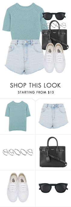 """Sin título #12727"" by vany-alvarado ❤ liked on Polyvore featuring MaxMara, Topshop, ASOS, Yves Saint Laurent and Vans"