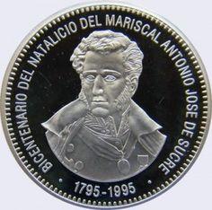 500 Bolívares 1995 Bicentenario del Nacimiento de Antonio José de Sucre