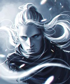 Aegon with his hair up ^w^