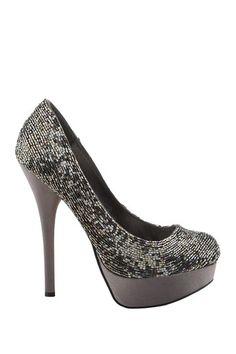 Embellished Platform High Heel