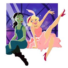 Princess & the Frog meets Wicked!!! BEST CROSSOVER EVER!!