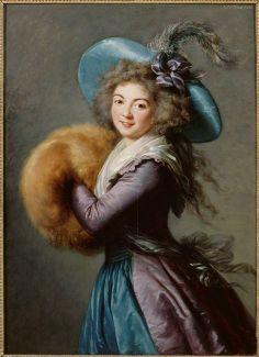 """""""Madame Molé-Raymond de la Comédie italienne, par  Elisabeth Vigée-Le Brun (1755-1842)"""""""