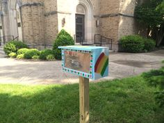 Little Library in Newport, Kentucky.