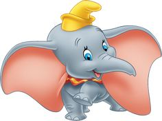 Images of Dumbo, the title character from the 1941 film of the same name. Walt Disney Co, Disney Wiki, Disney Magic, Dumbo Disney, Baby Dumbo, Dumbo Ears, Mickey Mouse Episodes, Dumbo Birthday Party, Disney Birthday