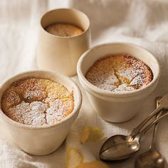 Taste Mag | Lemon curd puddings @ http://taste.co.za/recipes/lemon-curd-puddings/
