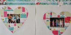 L'atelierscrap d'Aurore: Double-page fête des écoles 2012