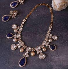 India Jewelry, Temple Jewellery, Gems Jewelry, Pearl Jewelry, Diamond Jewelry, Beaded Jewelry, Jewelery, Vintage Jewelry, Wedding Jewellery Designs