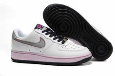 UK Market - Nike Air Force 1 Low Womens White Silver Doll Cave Purple Trainers Air Force 1, Nike Air Force, Nike Air Max, Purple Trainers, Air Max 90 Black, Running Shoes On Sale, Cave, Sneakers Nike, Doll