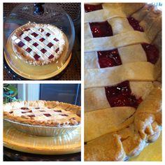 Homemade cherry pie :) So easy to make :)