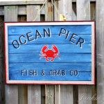 diy coastal sign