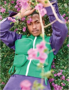 Steve Lacy, Syd, and Lakeith Stanfield by Ryan McGinley and Virgil Abloh Pretty Men, Pretty Boys, Black Boys, Black Men, Pretty People, Beautiful People, Steve Lacy, Bae, Fine Men