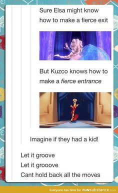 Funny pictures about Imagine If They Had A Kid. Oh, and cool pics about Imagine If They Had A Kid. Also, Imagine If They Had A Kid photos. Disney And Dreamworks, Disney Pixar, Kuzco Disney, Stupid Funny, Hilarious, Funny Stuff, Random Stuff, Tumblr Funny, Funny Memes
