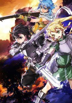 Affiche du light novel Sword Art Online Vol. Arte Online, Kunst Online, Online Art, Sword Art Online Asuna, Sinon Ggo, Kingdom Hearts Anime, K Project Anime, Sword Art Online Wallpaper, Accel World