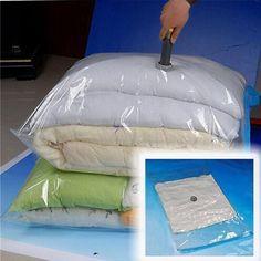 50*60 cm PE Dichtung Organizer Lagerung Paket Platzsparend Dichtung Tasche Faltbare Vakuumbeutel für Kleidung Freies verschiffen G092