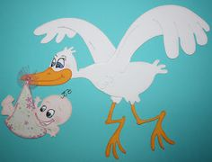Scrapbooking ---- Passion or Obsession??? (also Pazzle Tutorials): Stork and Baby File
