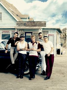 See the Backstreet Boys in concert.