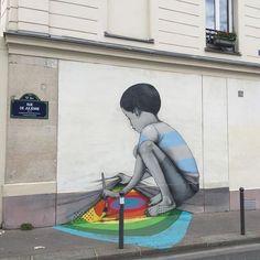 Street Art Paris. from ArtMoi Public.