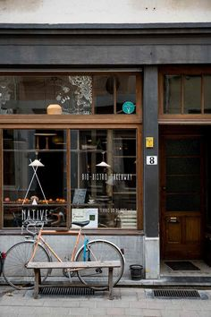 Discover the top spots for shopping and dining in the Belgian city - ask a local on Travel on HOUSE by House & Garden Cafe Shop Design, Coffee Shop Interior Design, Small Cafe Design, Restaurant Interior Design, Shop Front Design, Modern Restaurant, Cozy Coffee Shop, Small Coffee Shop, Cafe Concept