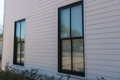 Single-Hung and Double-Hung windows look the same, but they function very differently. Double-Hung windows can open from the top and the bottom. They are great for circulating air because cold air can move through the bottom while hot air escapes out the top. Single-hung windows only open from the bottom but are less expensive for the same curb appeal. www.windowcraft.biz