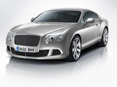 The 2011 Bentley Continental GT is just the second generation of the blockbuster coupe that rumbled ashore eight years ago. More substantively, the 2011 Conti gets a boost in horsepower from its 6.0-liter twin-turbo W12 engine, hitting 567 horsepower and 516 pound-feet. To keep that power in the right place, the rear track is wider, front-to-rear bias of the all-wheel-drive system is now 40/60 front-to-rear, and the coefficient of drag has been reduced to 0.33. 0-60 mph? Top speed? 198…
