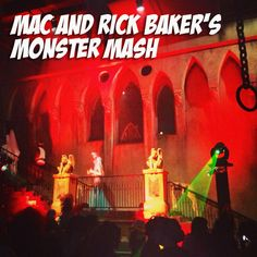 MAC Rick Baker swatches and photos from the Monster Mash (aka the best Halloween party EVER!)