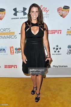 Chief Brand Officer of WWE Stephanie McMahon arrives at the Sports Humanitarian of the Year Awards 2015 at The Conga Room at L.A. Live on July 14, 2015 in Los Angeles, California.
