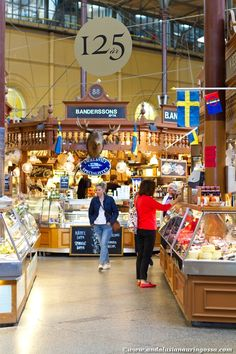 Östermalm market hall - one of my favourite addresses in Stockholm <3