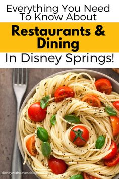 Here is everything you need to know about restaurants and dining in Disney Springs! Here are the 19 best places to eat in Disney Springs when planning your vacation and visiting Disney World in Orlando. Kid Friendly Restaurants, Disney Springs, Chicago Restaurants, Foodie Travel, Food Inspiration, Good Food, Awesome Food, Easy Meals, Favorite Recipes