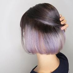 Short purple hair can be a bit difficult to style but if done in the right way, there is no better color to sport on your hair than the gorgeous purple!