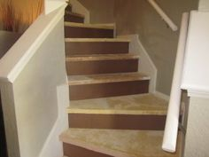 Painting stairs - particle board
