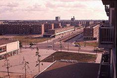 1950 ca Osdorpplein /Tussen Meer Dirk van de Broek gebouw staat er nog niet.