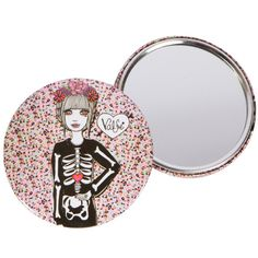 Skeleton Pocket Mirror | Valfré #ValfreWishList