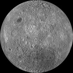 The lighter-colored highland regions of the moon are composed of anorthosite, a certain kind of igneous rock. On Earth, anorthosite is uncommon, except for in the Adirondack Mountains and the Canadian Shield. http://earthsky.org/tonight/believe-it-or-not-moons-near-side-is-dark-side?utm_source=EarthSky+News&utm_campaign=97d8fd80c9-EarthSky_News&utm_medium=email&utm_term=0_c643945d79-97d8fd80c9-393979433