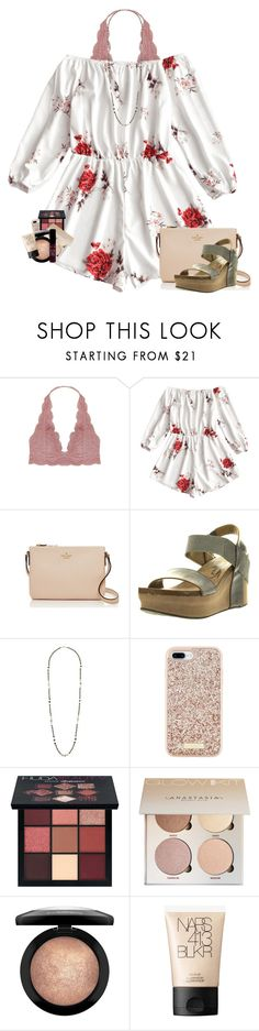 """""""yesterday's ootd"""" by mallorykennerly ❤ liked on Polyvore featuring Humble Chic, Kate Spade, OTBT, Chan Luu, Huda Beauty, MAC Cosmetics, NARS Cosmetics and NYX"""
