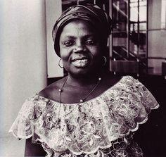 "blackwomenunchecked:    ""Black women all over the world should re-unite and re-examine the way history has portrayed us."" -Buchi Emecheta, Nigerian Novelist"