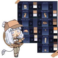 Cool Anime Girl, Kawaii Anime Girl, Cartoon Outfits, Anime Outfits, Cute Anime Character, Character Outfits, Drawing Ideas List, Casa Anime, Club Hairstyles