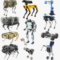 Boston Dynamics, Robot Costumes, Robot Parts, Robotics Projects, Humanoid Robot, I Robot, Robot Concept Art, Boston Strong, Robot Design